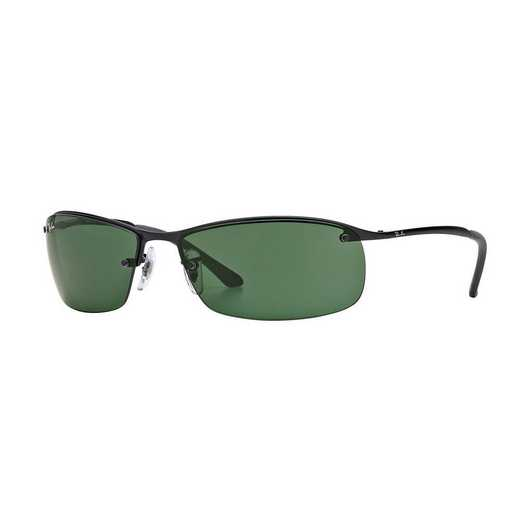 0RB318300671: Ray-Ban Rectangle Sunglasses - Matte BLK